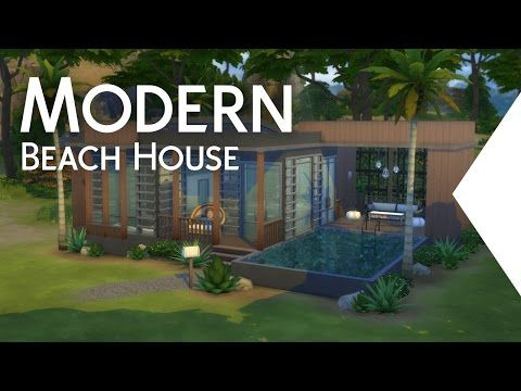 The Sims 4 Glass Roof House Speed Build Youtube Modern