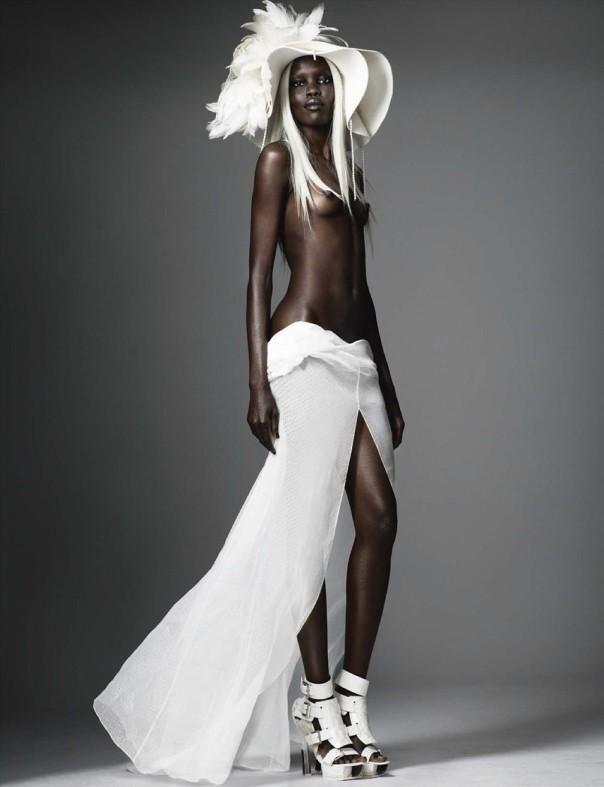 Models naked girl German