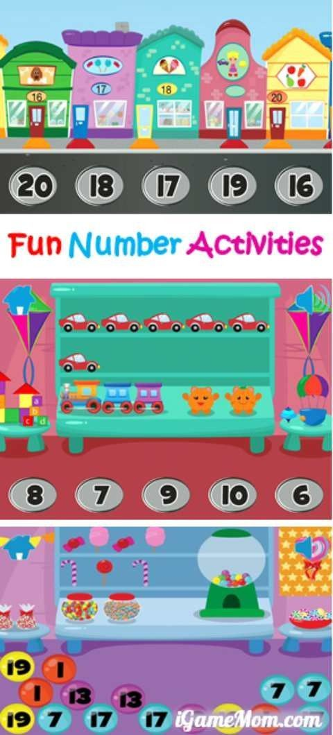 Fun Number and Counting Activities for Kids | Counting activities ...