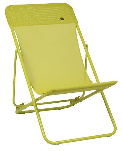 Outdoor Patio Furniture Vancouver: Lafuma Maxi Transat Batyline Colorblock Papageno (grün