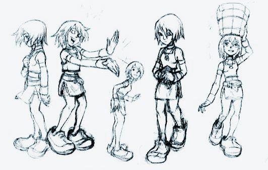 Concept Art - KINGDOM HEARTS - Kingdom Hearts Insider