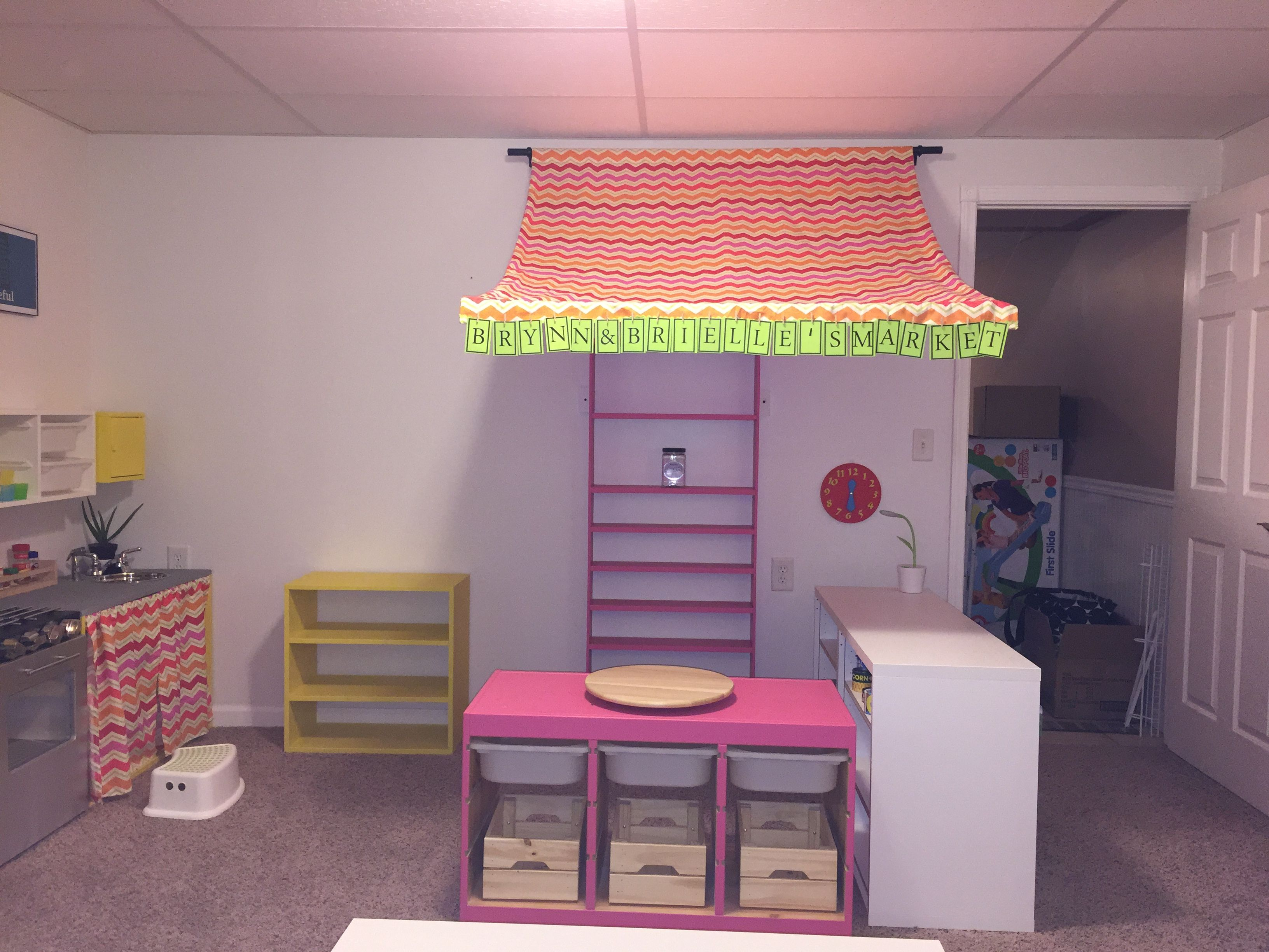 Playroom market! Playroom, Kitchen appliances, Popcorn maker