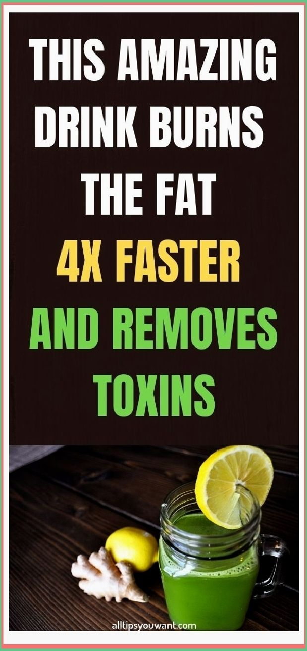 THIS AMAZING DRINK BURNS THE FAT 4X FASTER AND REM