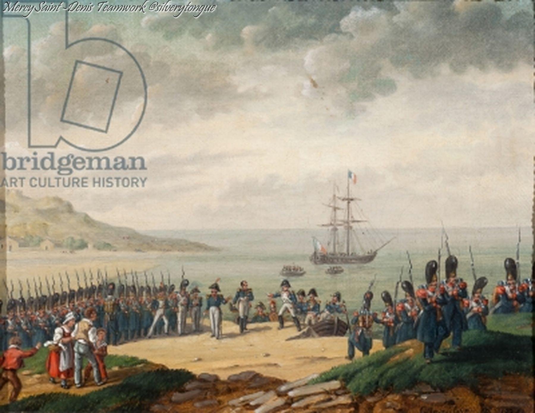 Outdoorküche Napoleon Bonaparte : Napoleon disembarking at cannes by g beaufort