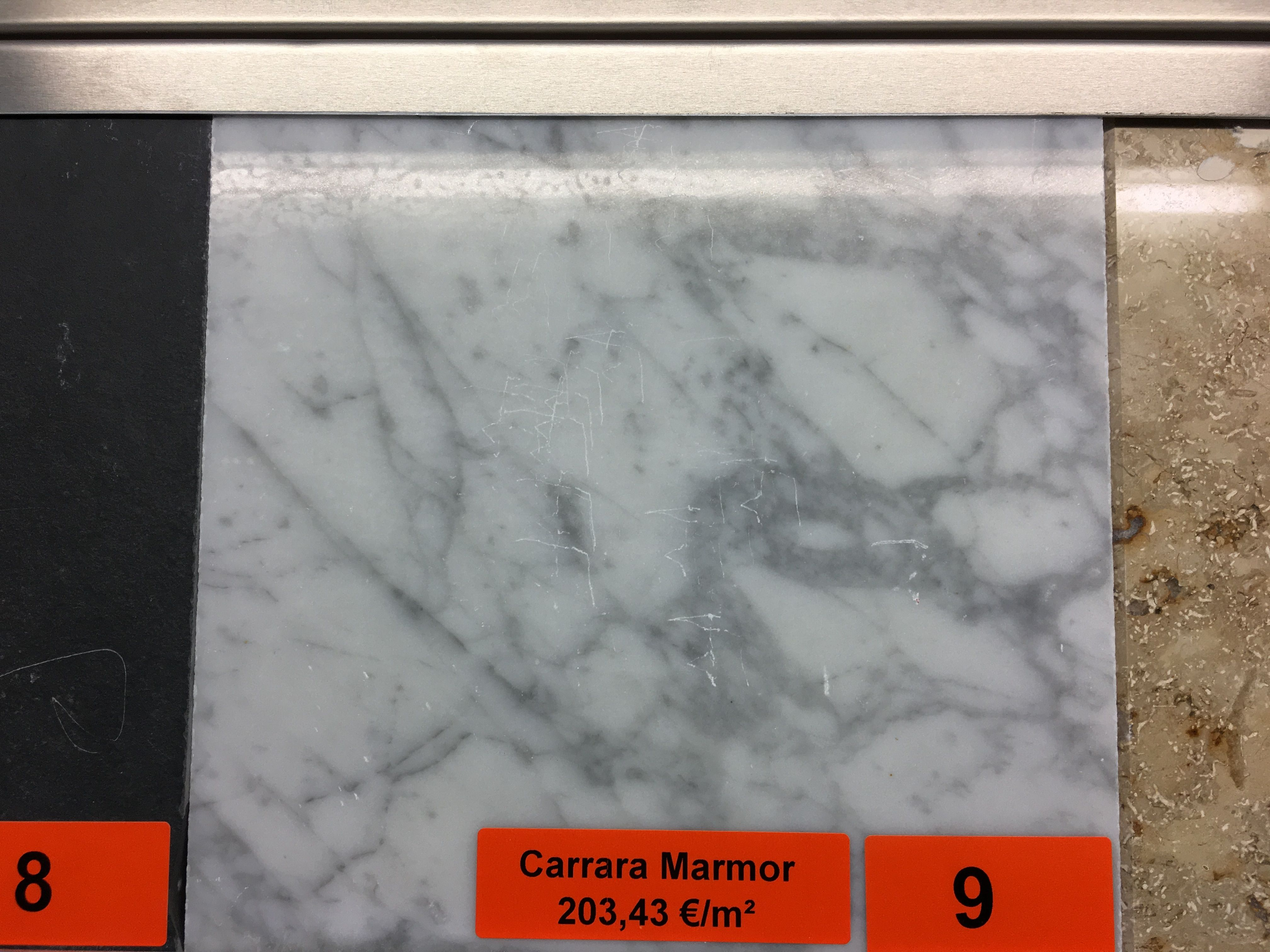 Marmor Fensterbank