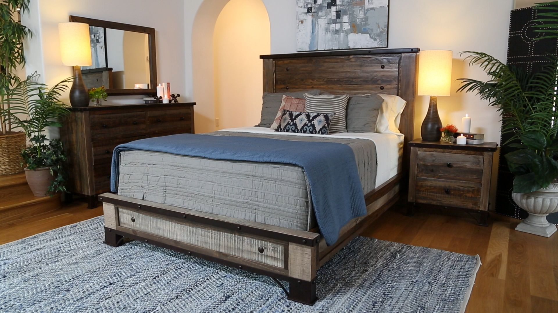 It s easy to create a His & Hers haven with our Haven bedroom set