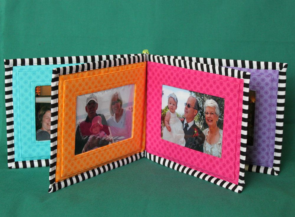 Baby\'s photo album, soft book, PDF sewing pattern, Family Photos ...