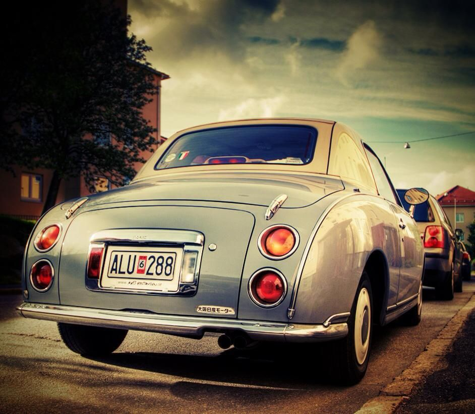 NISSAN FIGARO | Cars | Pinterest | Nissan, Cars and Dream cars