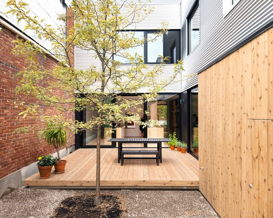 Old Duplex Converted Into Welcoming Family Home De Gasp House in