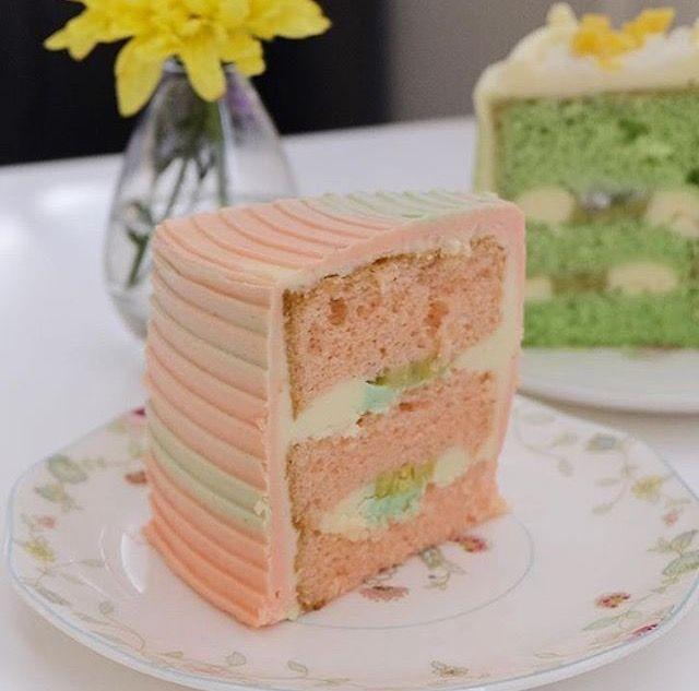 Es Pisang Ijo Cake By Amkcatelier Resep