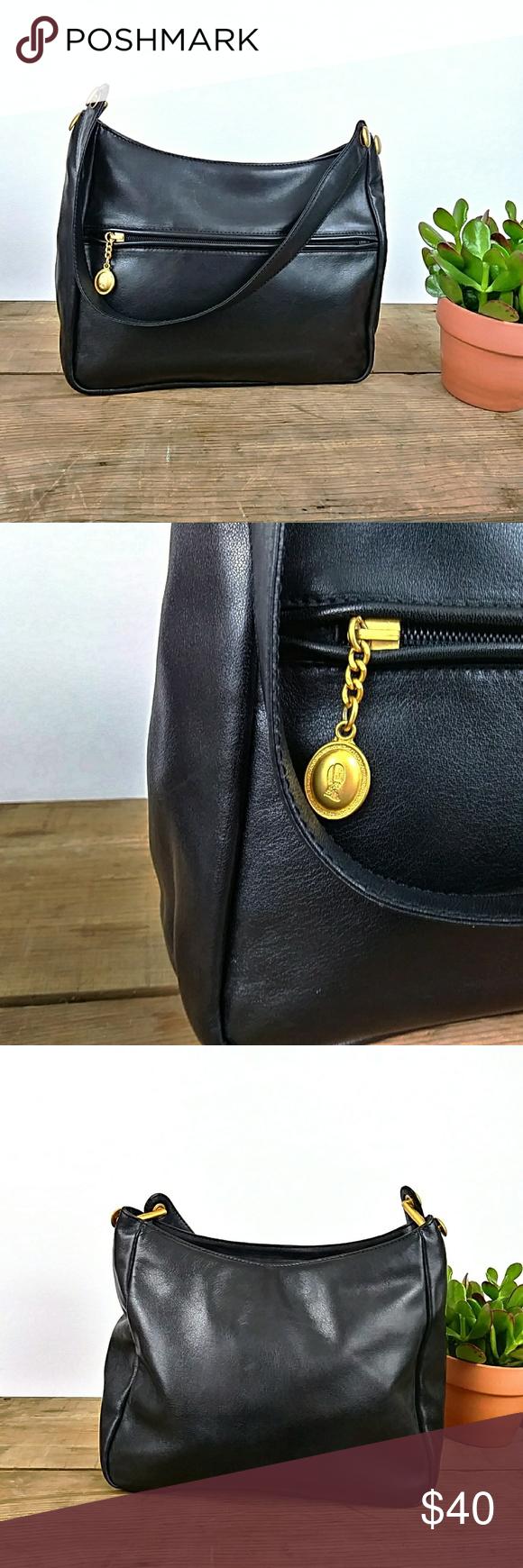 Saint Jack London Small Soft Leather Bag Soft Leather Bag Black Leather Bags Bags
