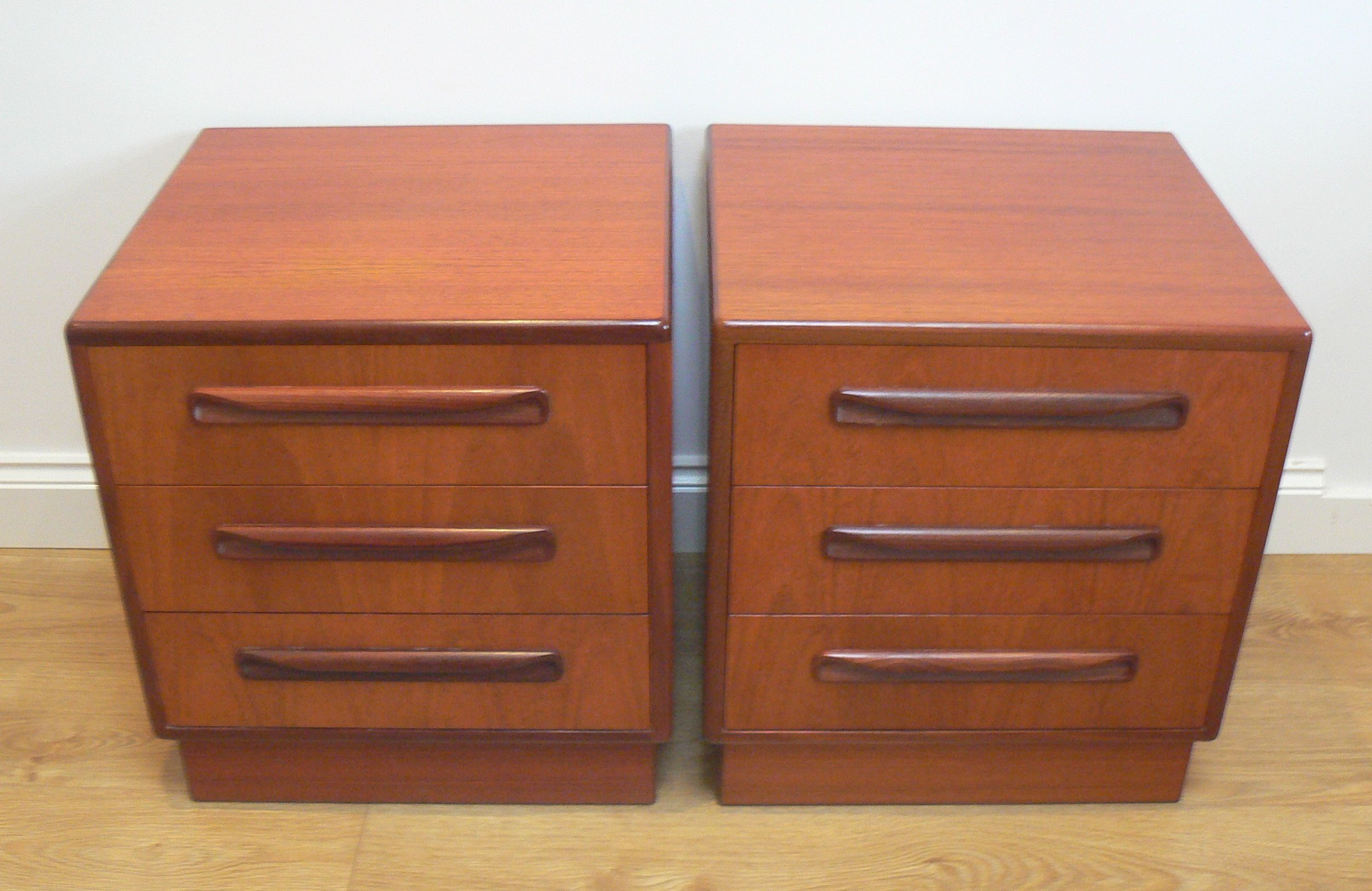 Best Matching Pair Of 1960S G Plan Fresco Bedside Tables 400 x 300