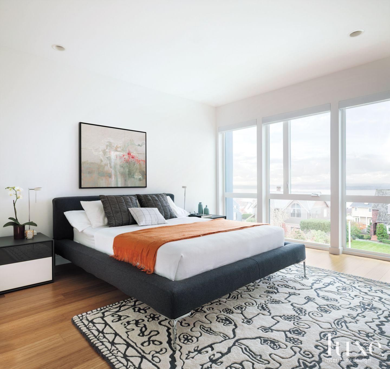 Modern Interior Design Magazine: Luxe Bedroom, White Master Bedroom