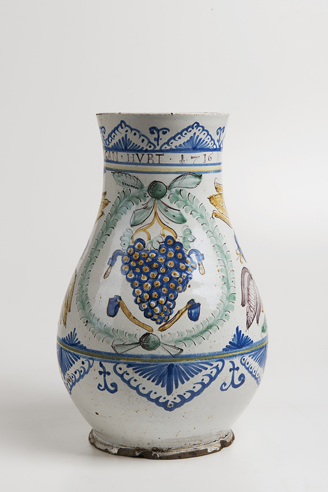 A HABÁN PITCHER OF THE VINTNERS GUILD A HABÁN PITCHER OF
