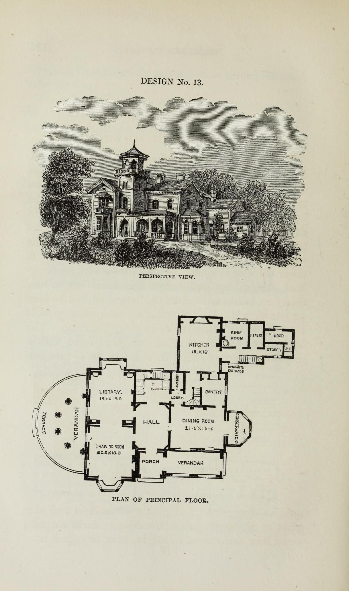 Villas and cottages Vaux Calvert 1824 1895 Free Download Borrow and Streaming Internet Archive