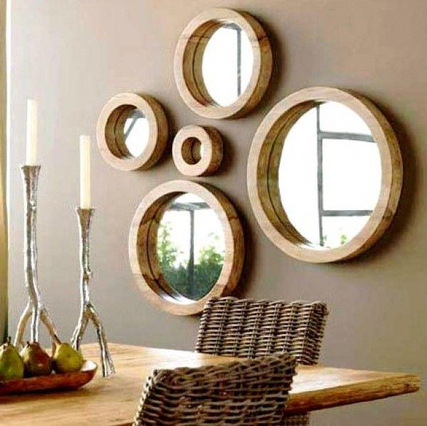 conjunto de espejos redondos | Decoracion | Pinterest | Conjunto de ...
