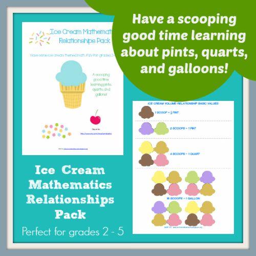 Ice Cream: The Full Scoop Storybook Fun   Homeschool, Homeschool ...
