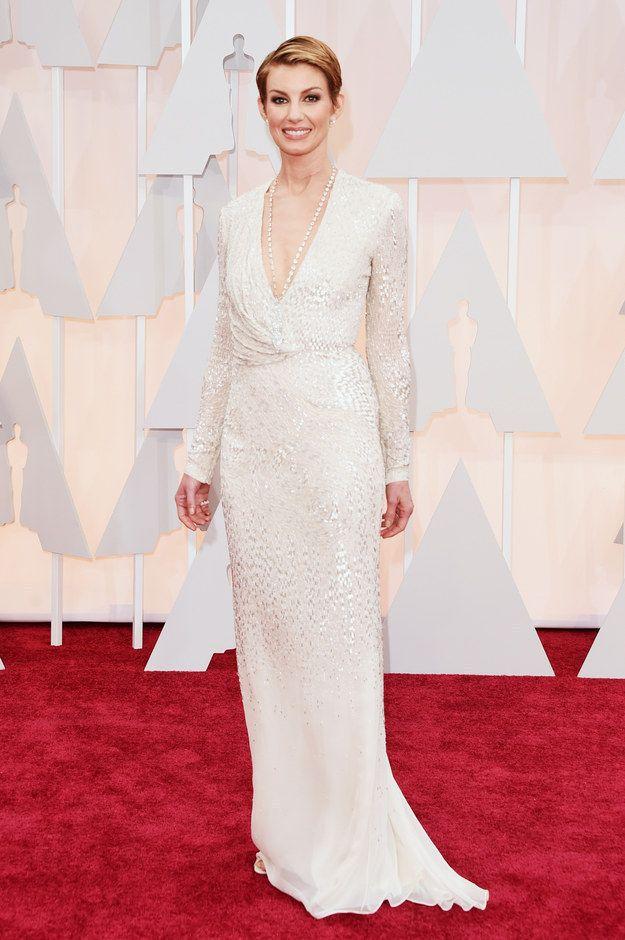 Fab! Faith Hill At The 2015 Academy Awards