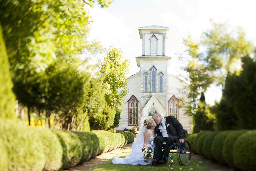 Beautiful wedding photo of a groom in a wheelchair » fotoflare.ca
