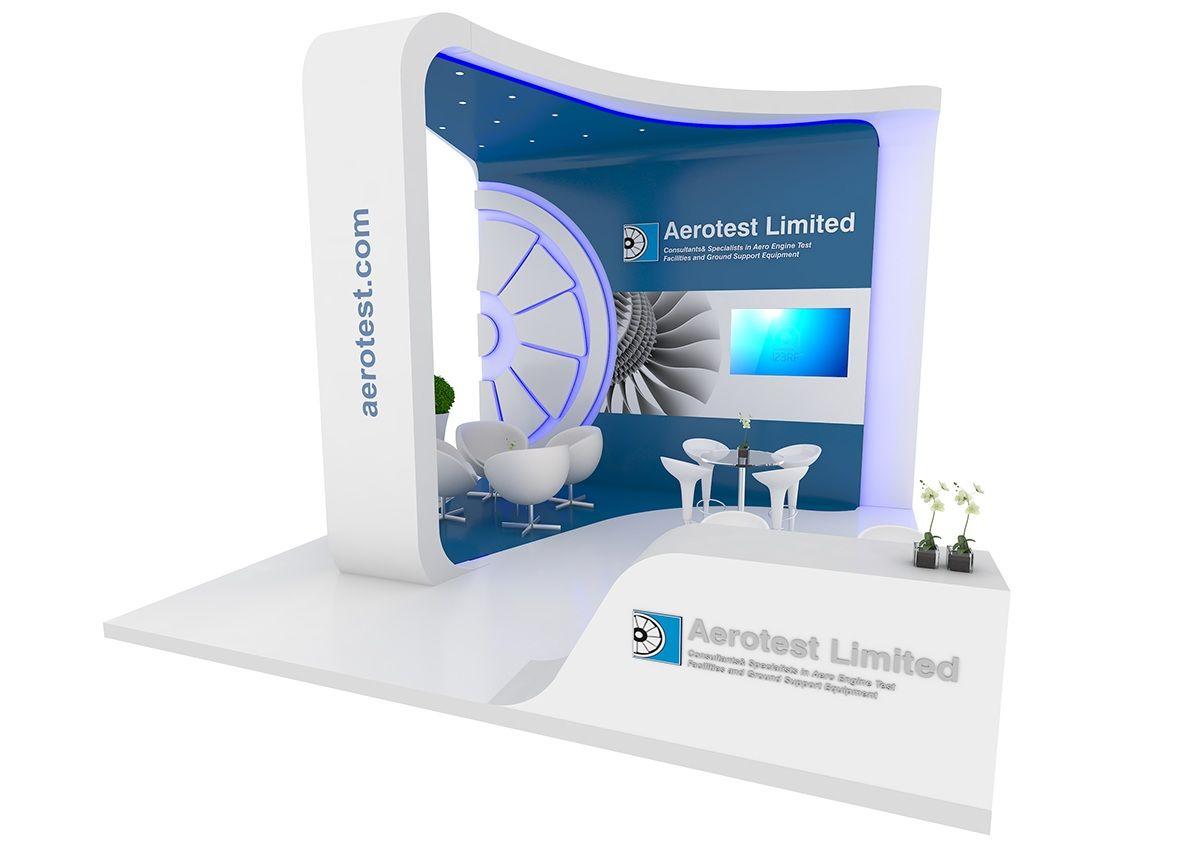 Exhibition Stand Design Behance : Aerotest on behance exhibitions pinterest best