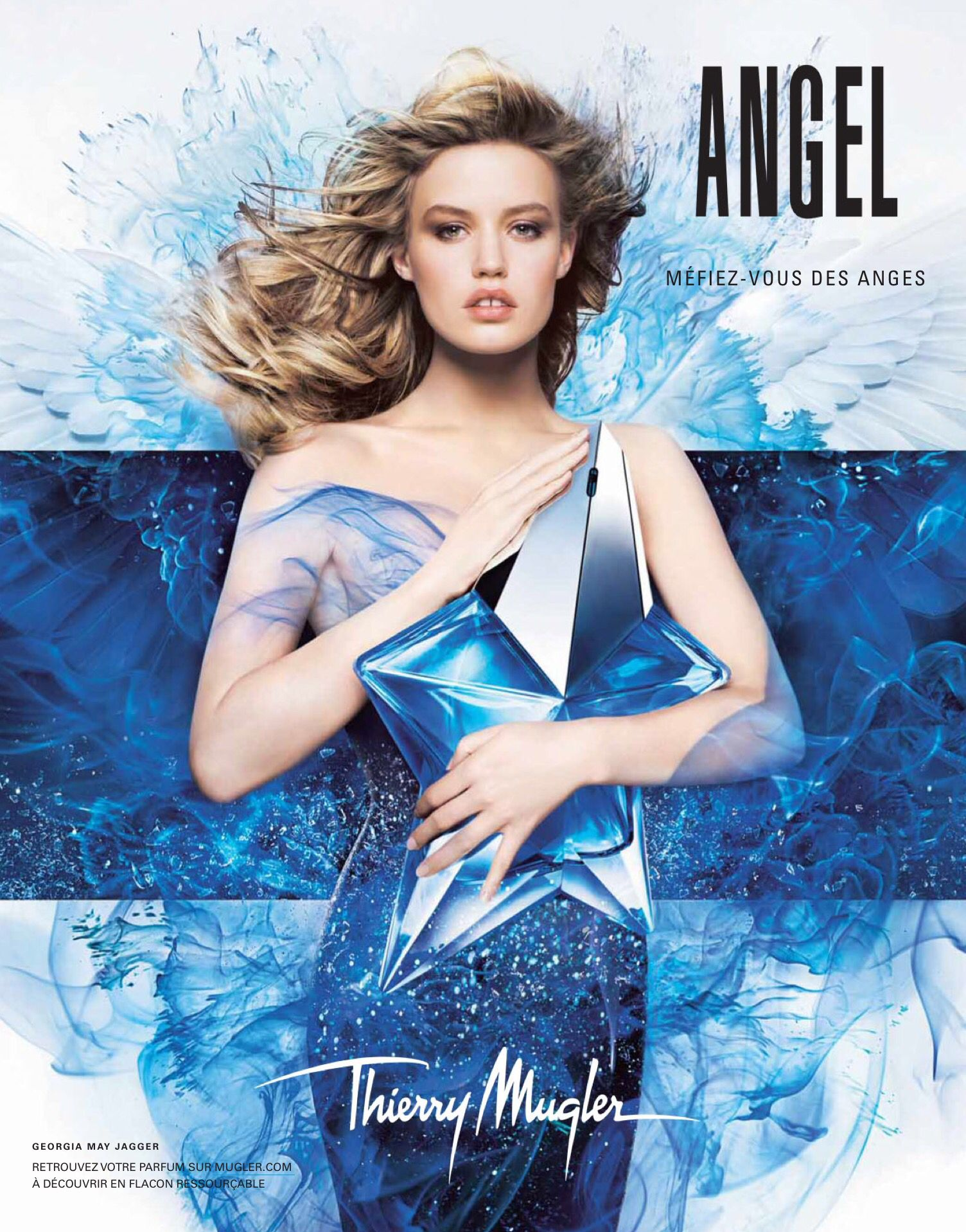Angel Thierry Mugler Perfume Advertising Perfufragrancead Angel