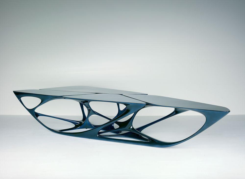 Mesa Table Design By Zaha Hadid For Vitra Tododesign