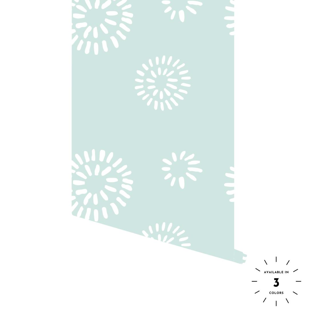 Dandelion Dandelion Wallpaper Peel And Stick Wallpaper Adhesive Wallpaper