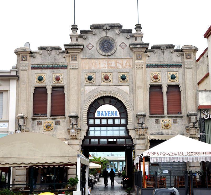 Home architettura toscana viareggio viareggio bagno balena 1900 c a viale regina - Bagno milano viareggio ...