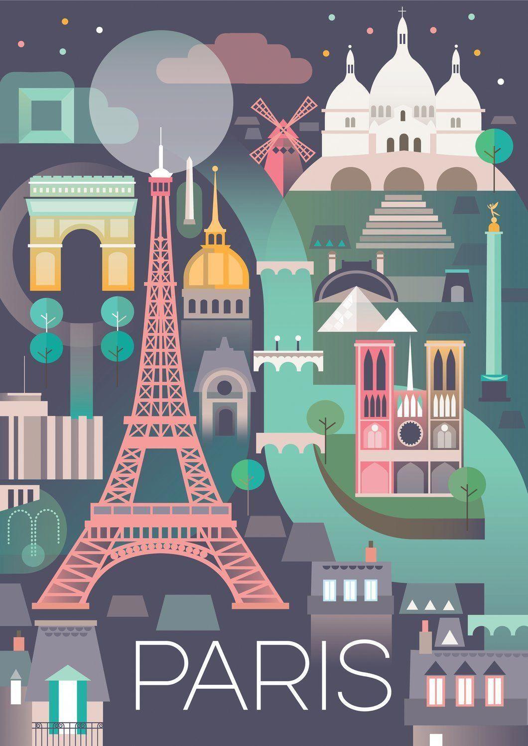 Shut Travel Map Holidaysale Vacationfunny Paris Poster Vintage Travel Posters Travel Posters
