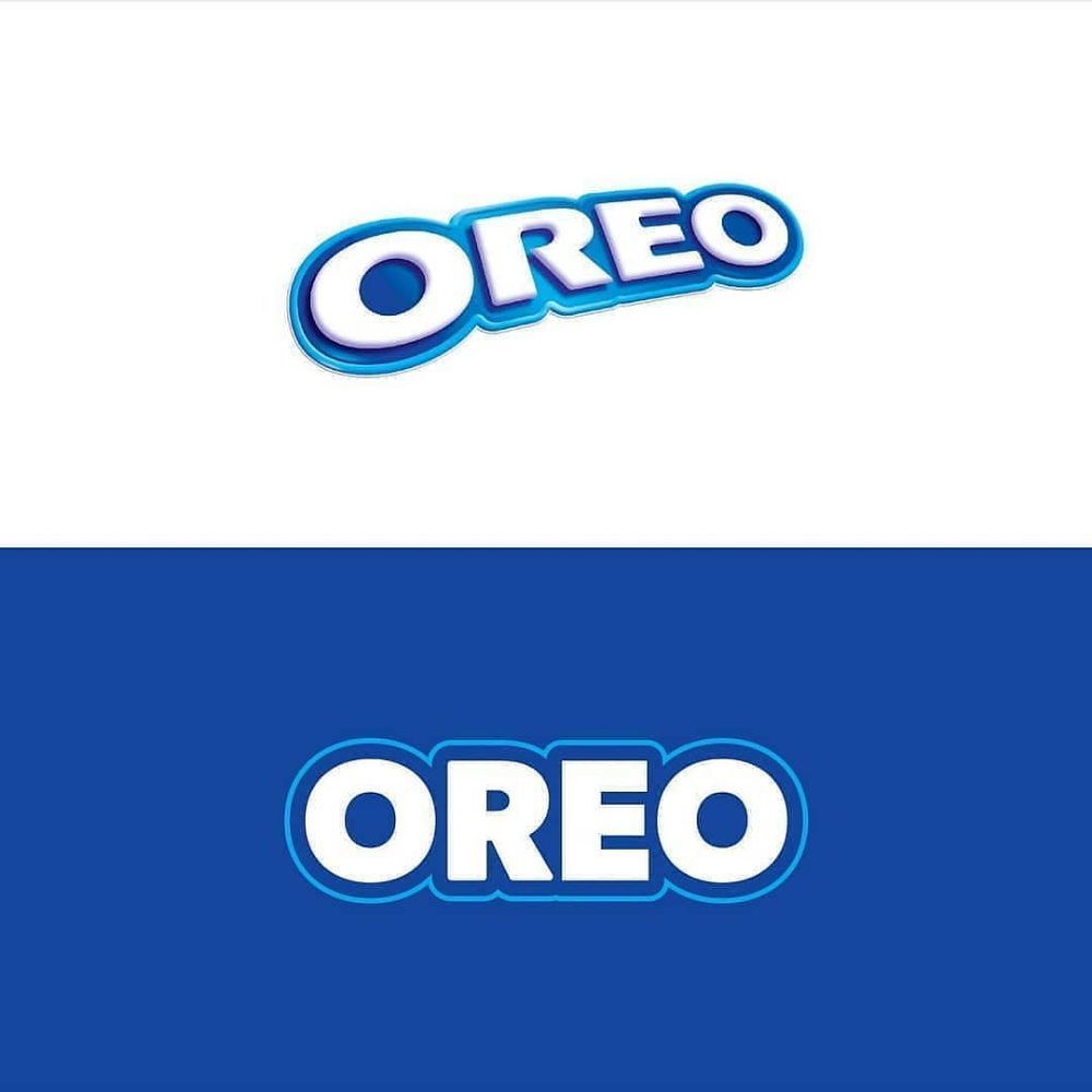 Oreo Logo Before And After Which One That You Like Oreo Cookies Branddesign Logodesigns Logodaily Logo Design Oreo Logos
