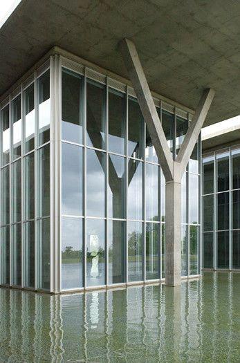 Gallery Of Flashback Modern Art Museum Of Fort Worth Tadao Ando Architect Associates 12 Museum Of Modern Art Tadao Ando Fort Worth Museum