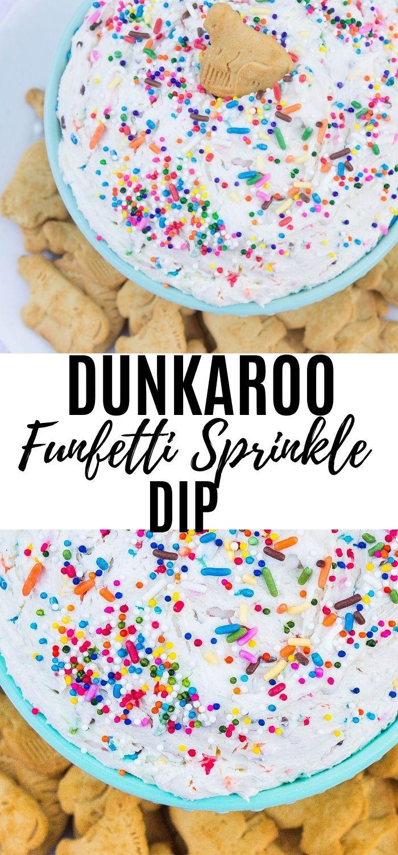 Funfetti 'Dunkaroo' Dip - Kathryn's Kitchen