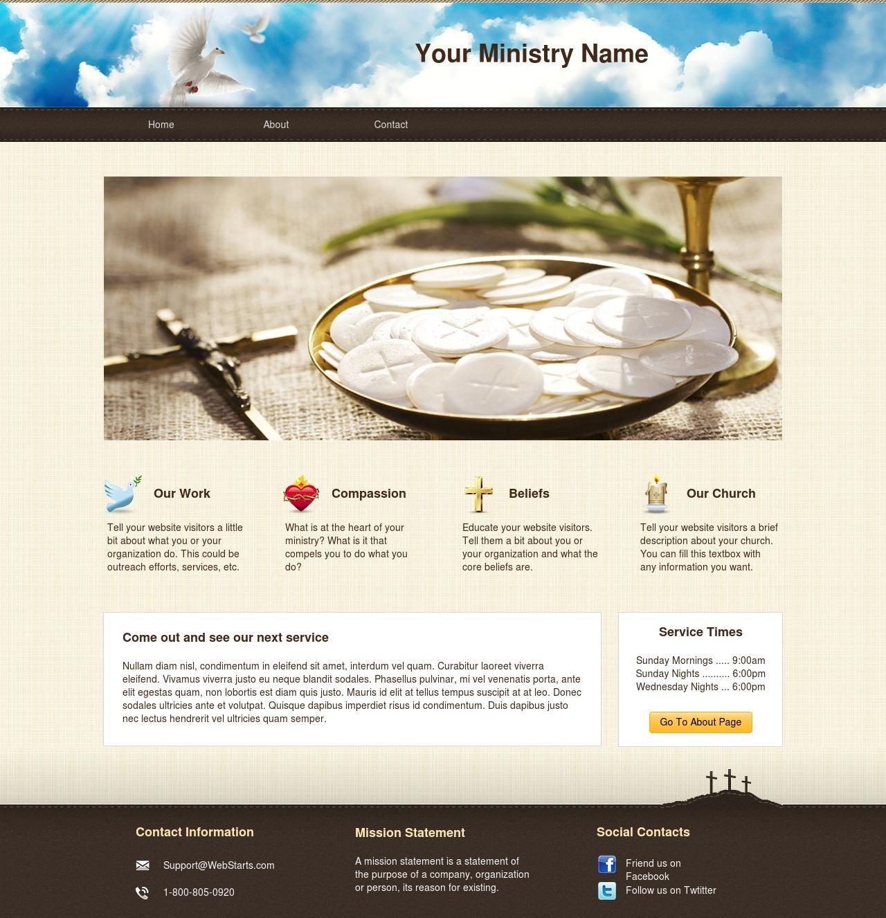 Best ministry website ever website designs pinterest
