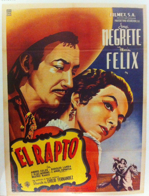 Alla en el Rancho Grande Vintage Mexican Cinema Poster Giclee/' 24x36 inch