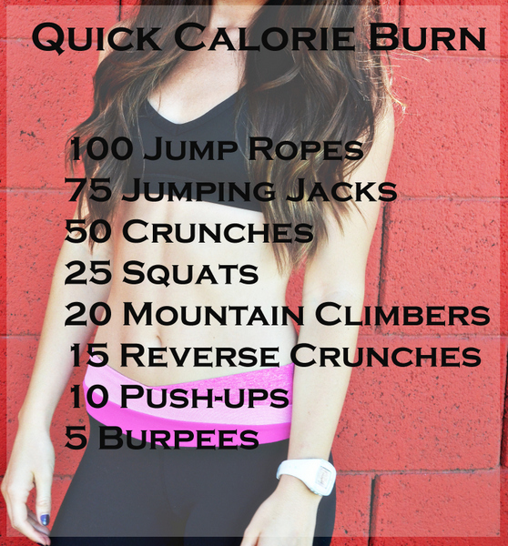Quick calorie burn workout | Calorie burning workouts ...
