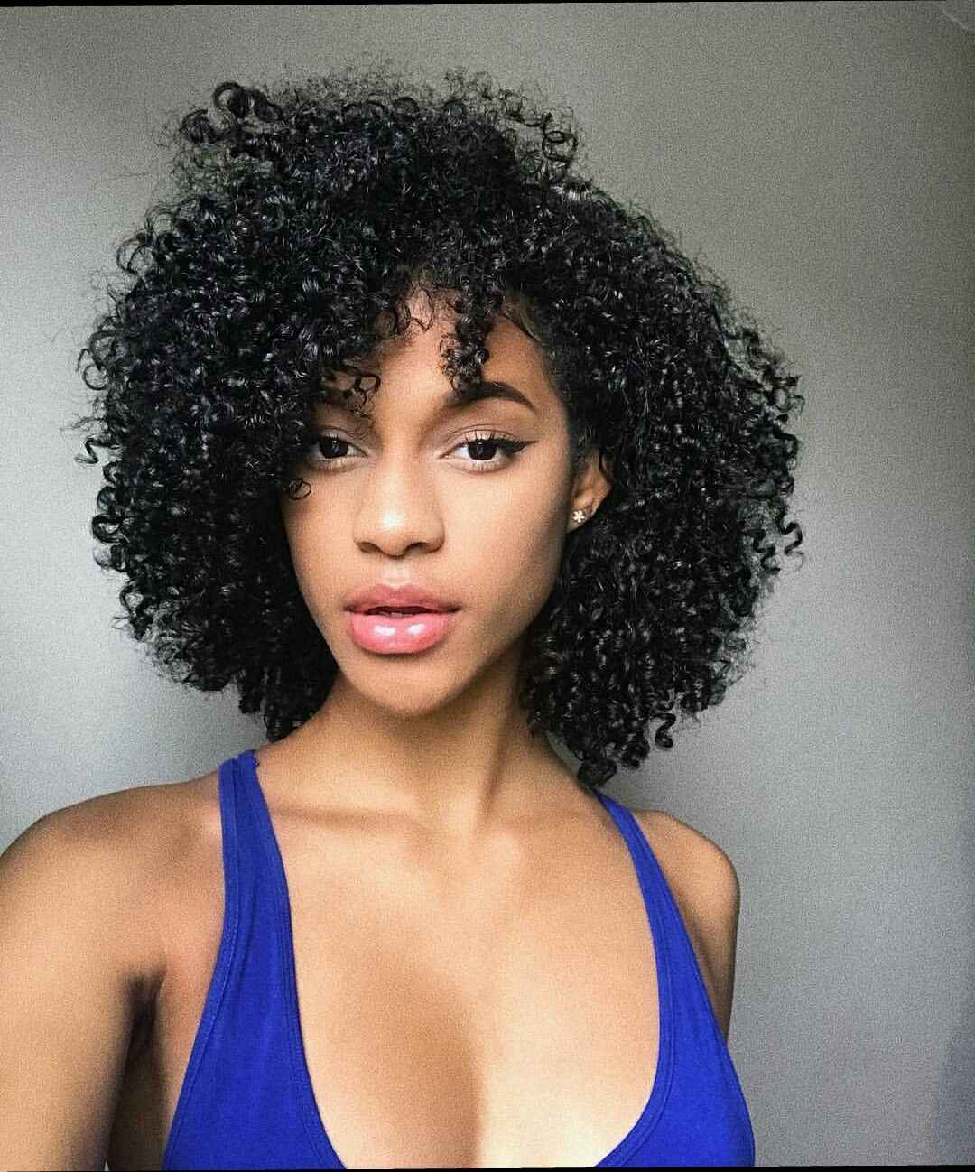 If my hair could get to this level of SLAY.... Natural