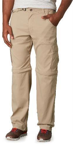 "prAna Men's Stretch Zion Convertible Pants 34"" Inseam"