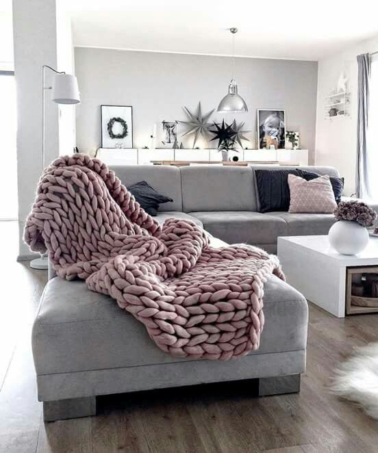 Need this blanket and a grey couch of some sort😊 | Home ...