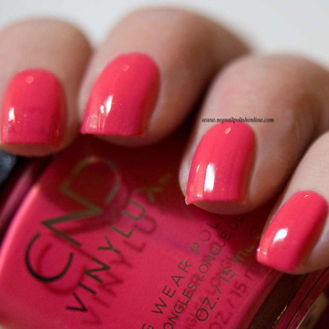 CND Vinylux Charm | My Nail Polish Online | Cnd vinylux, Nail polish ...