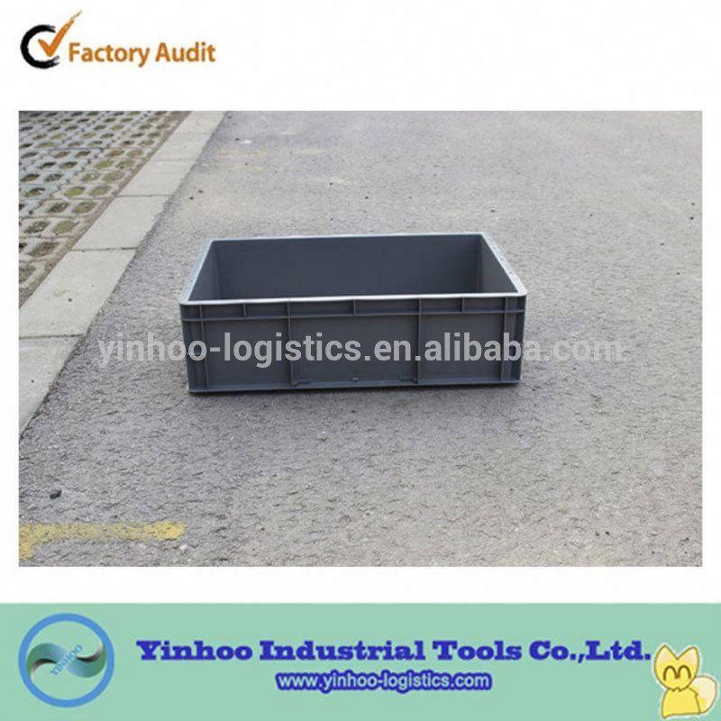 logistics storage box Euro standard plastic container with lids