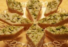 Cardamom Fudge Sheer Payra Afghanistan Recipe Afghanistan
