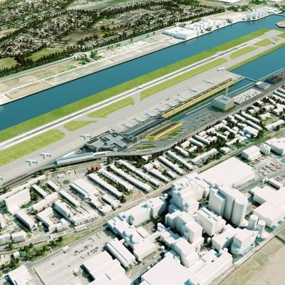 Here S How London City Airport Will Look After Its 400m Expansion As It Plans For Increased Passenger Numbers C London City Airport Airport City London City