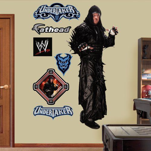 Fathead Wall Decal Real Big Wwe Undertaker Check Out This Great Product Fathead Wall Decals Wall Stickers Murals
