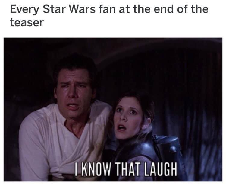 Pin By C Pierce On Star Wars Star Wars Memes Star Wars Humor Star Wars Fans