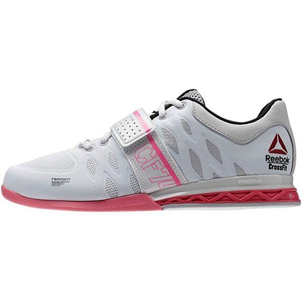 98bb9ae78d5e Reebok Women s CrossFit Lifter 2.0 Style    M43663 in Porcelain Steel Pink  Black