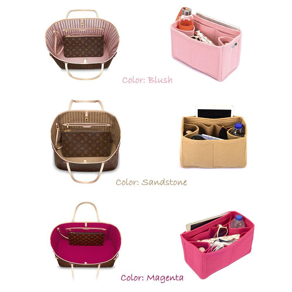 f6fbbae2 Bag and Purse Organizer for Louis Vuitton Bags, Felt Purse Organizer ...