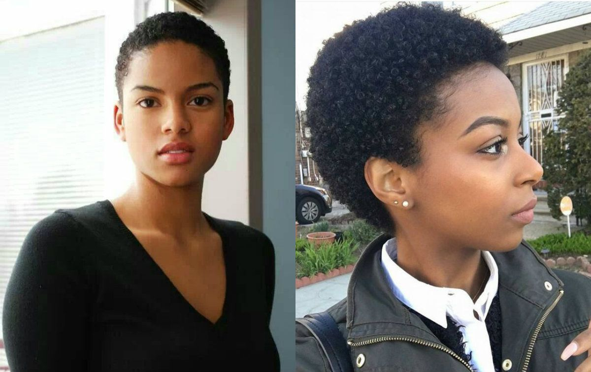 Short Afro Styles Black Women Hairstyles Natural Hair