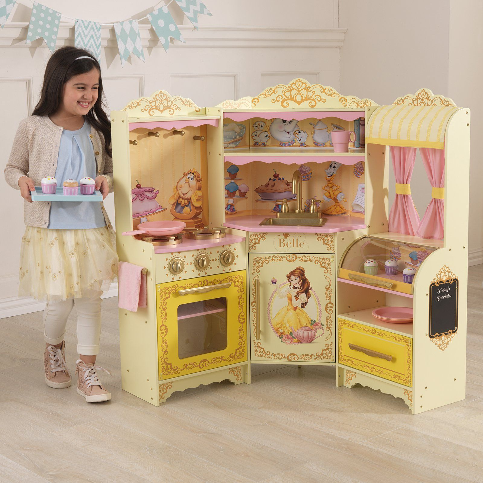 KidKraft Belle French Pastry Kitchen | from hayneedle.com