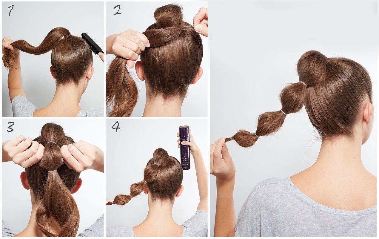 mittellange Haare einfach stylen braun Haarfarbe #schnelle