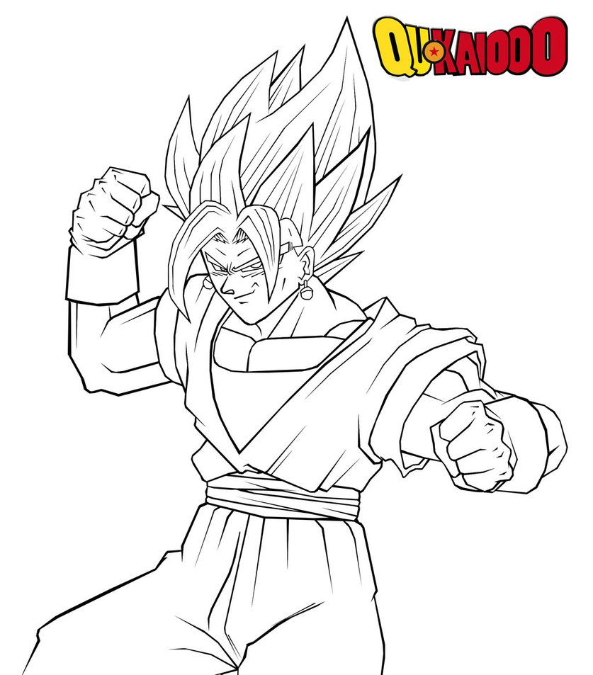Dragon Ball Z Coloring Pages Vegito Lion Coloring Pages Dragon